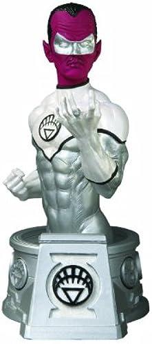 DC Direct Heroes Of The DC Universe  schwarzest Night  Weiß Lantern Sinestro Bust by DC Direct