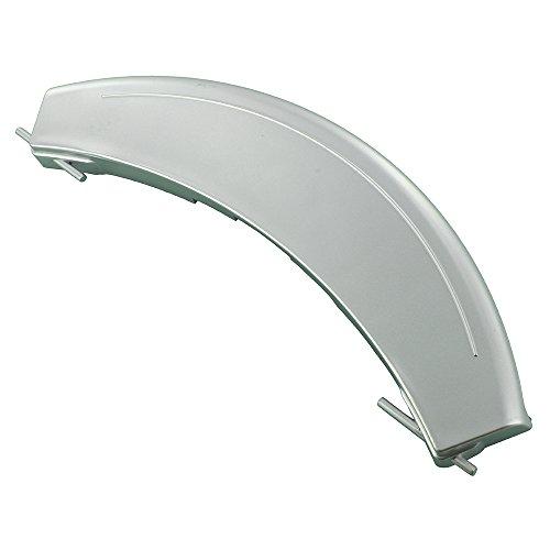 Europart Türgriff für Waschmaschine, Kunststoff, kompatibel mit BSH Bosch WAE Maxx 7 VarioPerfect/WM14E iQ300 VarioPerfect-Serie, silber