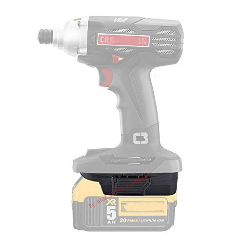 1PCS Adapter for Craftsman C3 19.2V Cordless Tools Work with DeWalt 20V MAX XR DCB205 Li-Ion Battery. with 5V 2.1A MAX USB Port (Adapter Only)-US Stock