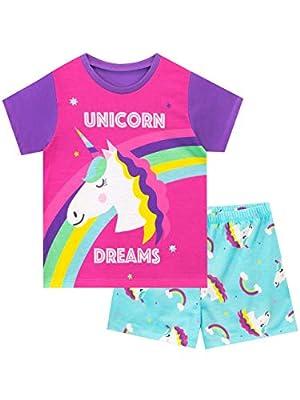 Harry Bear Pijamas para Niñas Unicornio Rosa 5-6 Años