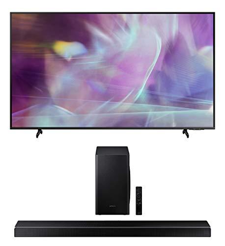 Samsung QN60Q60AA 60' QLED Q60 Series 4K Smart TV Titan Gray with a...
