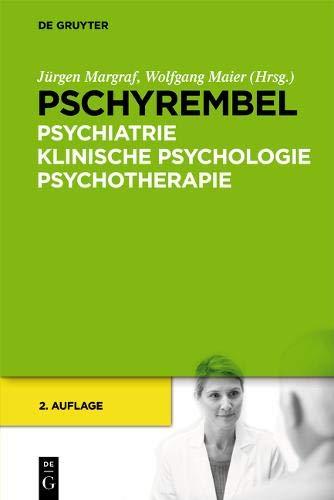 Pschyrembel Psychiatrie, Klinische Psychologie, Psychotherapie