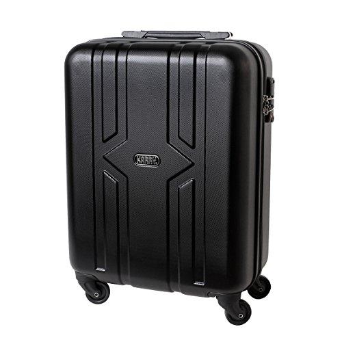 Karry , Valigia , XXL Hartschalen Koffer Trolley Reise TSA Schloss Schwarz 821 (nero) - 119690483