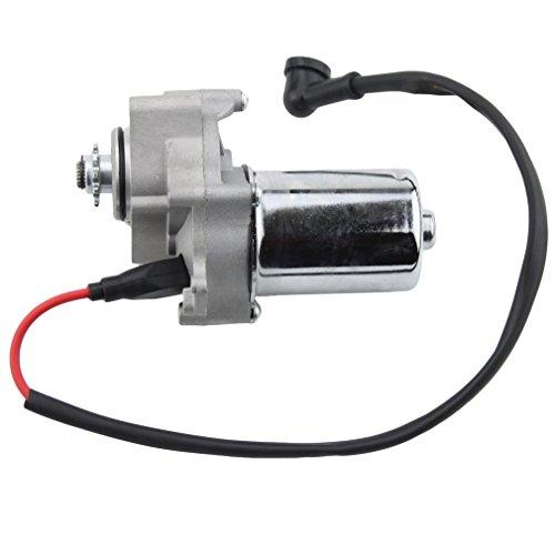 GOOFIT Motor de arranque eléctrico reemplazo para ATV montaje de motor inferior chino 50cc 70cc 90cc 110cc I St01