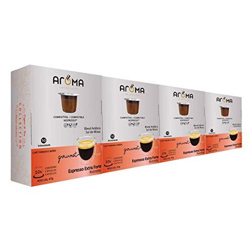 100 Cápsulas Para Nespresso - Café Extra Forte - Cápsula Aroma