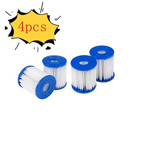 Xiaol - Filtro de piscina para Bestway tipo I, cartuchos de filtro para piscina o jacuzzi inflable, filtro de limpieza de piscina, accesorios de jacuzzi o spa