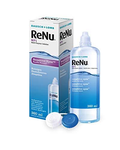 Bausch & Lomb ReNu MPS Pflegemittel für weiche Kontaktlinsen, 360 ml