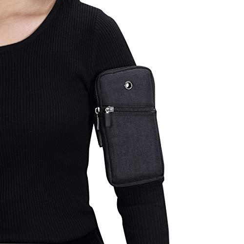 Bolsa protectora de teléfono Brazalete de correr deportes para iPhone Pro Max, 12, 12Pro, 12 mini, SE2020,11,11 PRO, 11 Pro Max, XS MAX, XS, X, XR, 8 PLUS, 7 PLUS, 6s Plus, Bolsa de brazo ajustable Ad