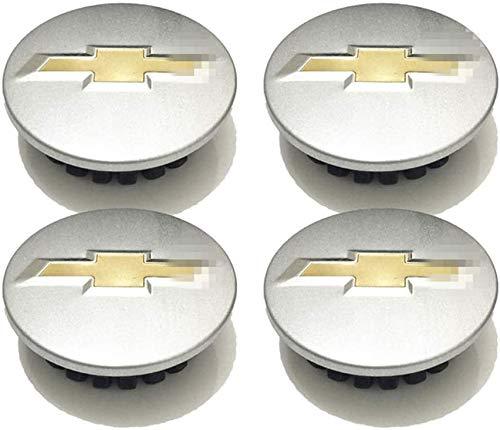 4 piezas 59mm con el Logotipo Wheel tapacubos Para Chevrolet Malibu Cruze Aveo, Central Cubierta de buje Prueba De Polvo Automóvil Accesorios