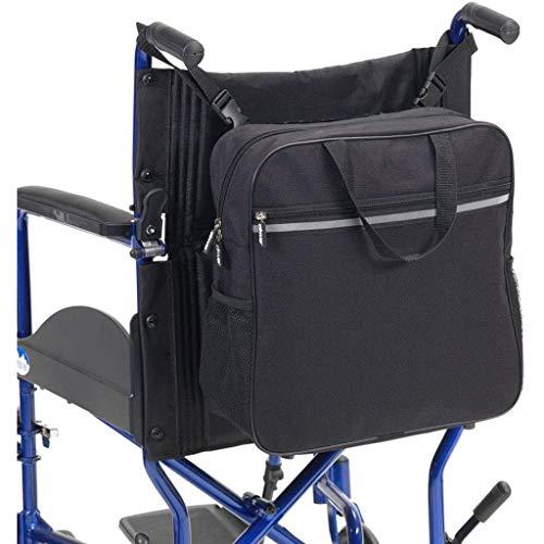 LYPDD Rolstoel Rugzak - Zwart - Geweldig Accessoire Pack voor Uw Mobiliteit Apparaten. Past op de meeste scooters, Walkers, Rollator