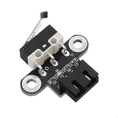 Drucker-Zubehör, horizontaler Typ, mechanischer Endstoppschalter mit 1 m Kabel für 3D-Drucker RepRap Ramps1.4, 3 Stück