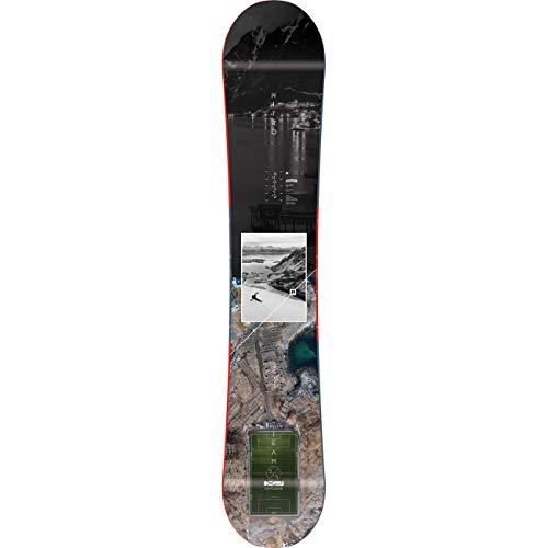 Nitro Snowboards Herren Team Exposure BRD'20 vielseitiges All Mountain Freestyle Board Snowboard, 155 Bunt, 155 cm