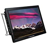 Trexonic Portable Rechargeable 14 Inch LED TV with HDMI, SD/MMC, USB, VGA, AV in/Out and Built-in...