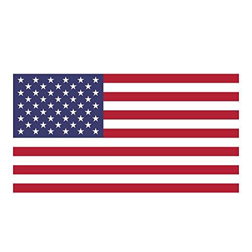 Flag It United States Heavy Duty Vinyl Bumper Sticker (3 x 5 Inches)