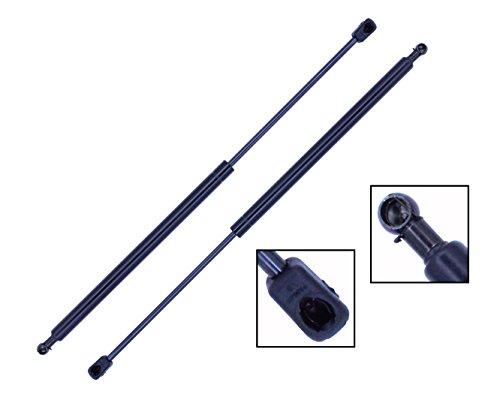 2 Pieces (Set) Tuff Support Hatch Lift Supports 2003 To 2006 Hyundai Tiburon Without Spoiler, 2007 To 2008 Hyundai Tiburon