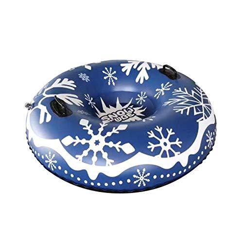 brightsen Tubo De Nieve Grande De 39 Pulgadas, Inflable, Resistente, Gran Tubo De Nieve Grueso para Niños, Adultos, Disfrute De La Diversión del Esquí En Invierno Y Las Actividades Familiares