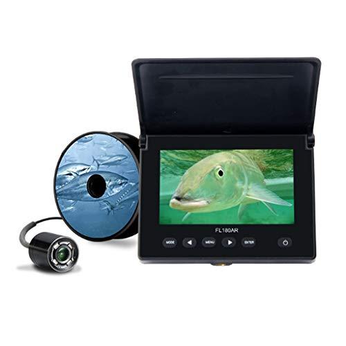 RENYAFEI Buscador De Peces Portátil Rastreador De Peces Sondas De Pesca Inalámbricos Electrónicos con Pantalla LED para Pesca En Hielo Y Pesca Nocturna