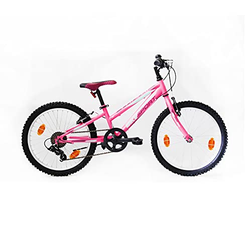 BIKE SPORT LIVE ACTIVE Bikesport Direction Bicicletta per Bambini 24' Bianco Nero, Altezza Telaio: 34 cm, Frenos de Disco, Shimano a 21 Velocita (Blu)