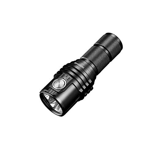 IMALENT MS03 Tactical Flashlight Super Bright EDC Torch 13000 Lumens, 3 Pcs CREE XHP70 2nd LEDs High Lumens Handheld Flashlight for Camping, Hiking, Security and Emergency