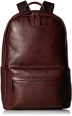 Fossil Men's Buckner Backpack, Black Cherry, One Size