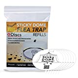 Aspectek Sticky Dome Flea Trap Refill 6-Pack