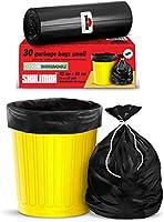 Shalimar Premium OXO - Biodegradable Garbage Bags (Small) Size 43 cm x 51 cm 6 Rolls (180 Bags) ( Dustbin Bag / Trash...