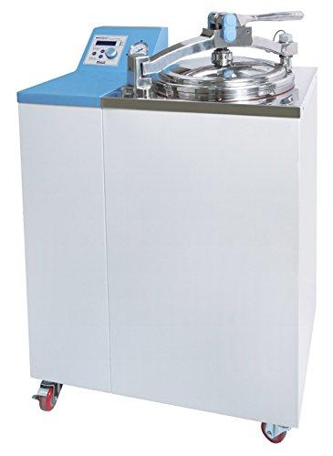 Witeg Dampfsterilisator WAC-47 47L bis 132°C, ideal für Biotechnologie, Kliniken, Umwelt, Medizin und Nahrungsmittelindustrie