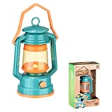 Kids Lantern Toy Camping Light - Mini Led Lamp Nightlight Battery Operated Lanterns - Small Tent Teepee Night Light for Children Boys and Girls - Indoor Use and Camp Out Gear, Green by K-F ToyJoy