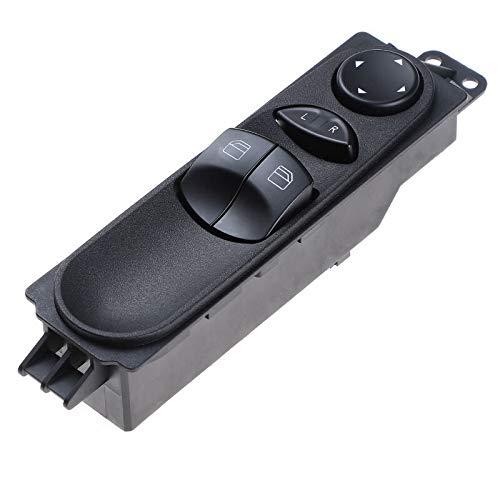 1 interruptor de ventana de coche maestro para Mercedes Sprinter W906 VW Crafter 9065451213 9065451513 9065451913 piezas de coche (tamaño: 9065451213)
