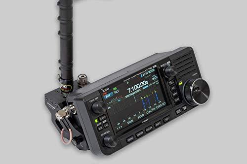 ICOM 705のWINDCAMPクイックリリースアンテナサポート IC-705取付用