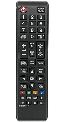 allimity BN59-01199G Ersetzte Fernbedienung für Samsung TV UE32J5205 UE32J5250 UE32J5270 UE32J5373 UE40J5200 UE40J5202 UE40J5205 UE40J5250 UE40J5270
