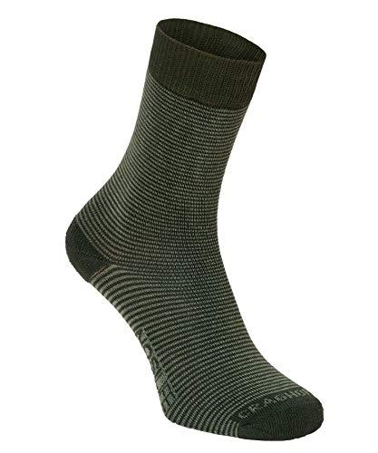 Craghoppers Damen Nl Twin Pack Socken, Park/Drygrs, 3-5