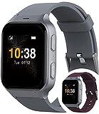 TCL Safety Watch MT43AX Sicherheitsuhr mit Sturzerkennung für Senioren I Handyuhr mit Notruf-Knopf und GPS-Ortung für ein sicheres Gefühl I per App mit der Familie verb&en