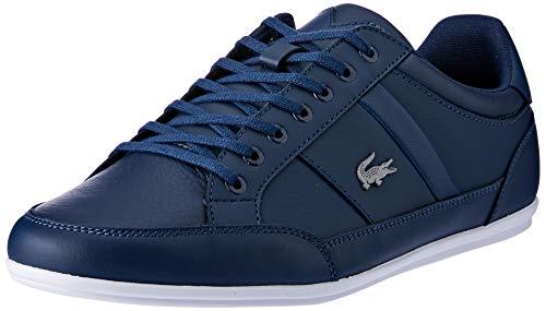Lacoste Mens Chaymon BL 1 CMA Sneaker, Blau (Navy/White), 41 EU