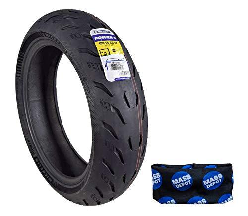 Michelin Pilot Power 5 Radial Sport Bike Motorcycle Tire 180/55-17 (180/55ZR17 Rear)