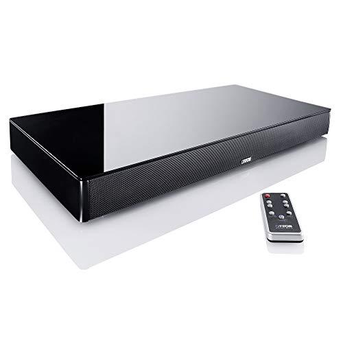 Canton DM 75 altavoz soundbar 2.1 canales 200 W Negro Inalámbrico y alámbrico - Barra de sonido (2.1 canales, 200 W, DTS TruSurround,Dolby Digital, 200 W, 3000 Hz, 2,54 cm (1