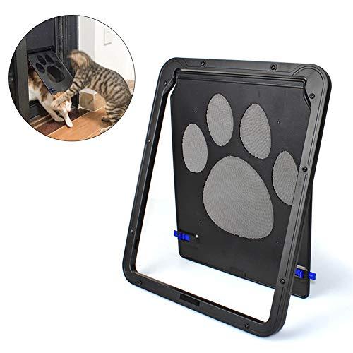 KUOZEN Gatera Gateras para Gatos Puerta de Gato Gato Puerta de la Puerta Solapa de Gato para Puertas de Vidrio Inteligente Cat Flap s