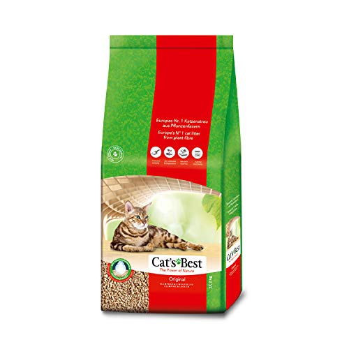 Okoplus Cats Best Original Clumping Cat Litter, 30...