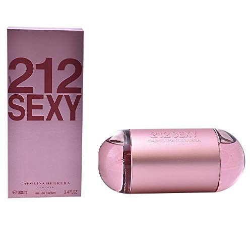 Carolina Herrera 212 Sexy Eau De Parfum Spray For Women, 3.4 Ounce