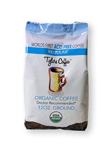 Tylers Acid Free Organic Coffee, Whole Bean, 12oz