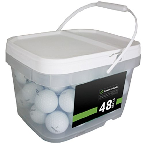 Titleist Player Mix 48 Recycled Golf Balls, White