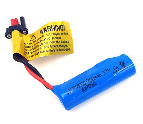 FEILUN Test Qualified 700mAh 3.7V High Power Rechargeable Li-ion Battery Pack for Remote Control High Speed Racing Boat RC Vehicle Cars Truck Airplane Helicopter