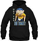 J e f f y-T-Shirt Supermariologan SML Jeffys The Puppet Printed Funny Youtuber Top Ideal Gifts Unisex Hoodie Tank Top Custom Men Women and Kids3 11244