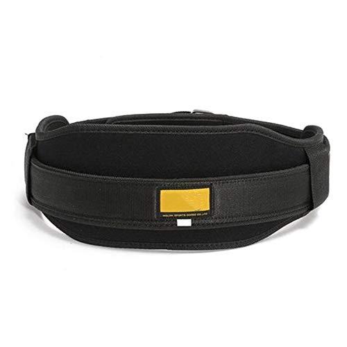 Moldeador de cuerpo de reloj de arena Nylon Peso cinturón de levantamiento de la gimnasia de entrenamiento de boxeo apoyo de la ayuda de la cintura de la correa de correa de soporte Volver Entrenador