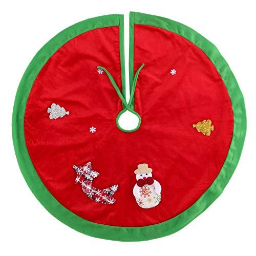 BBQQ Christmas Tree Skirt Christmas Tree Decorations Christmas Ornament Diameter