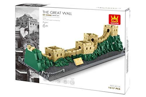 WANGE - W6216 Chinesische Mauer - Architektur Serie