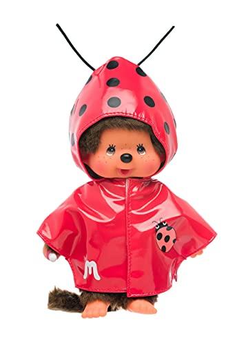 Monchhichi Boy w/ Ladybug Raincoat by Sekiguchi