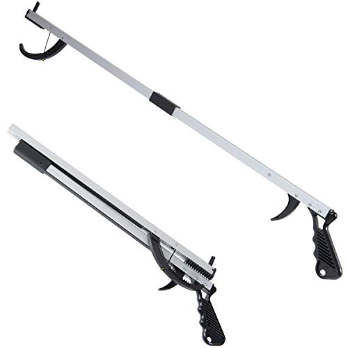 Duro-Med 32 Aluminum Reacher Grabber with Magnetic Tip, Folding