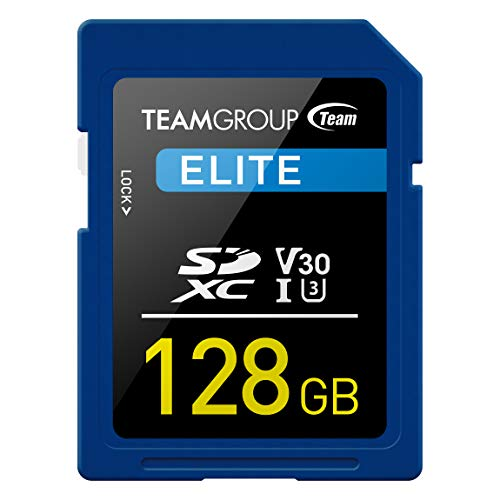 Team SDカード 128GB UHS-I U3 V30 4k動画対応 読込最大95MB s 日本国内10年保証 正規品
