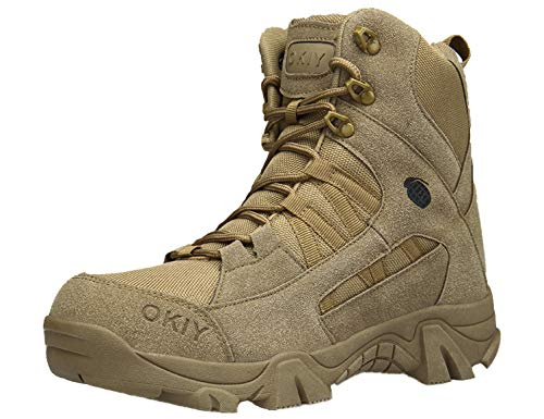 SINOES Wüste Armee Combat Patrol Tactical Militärische Sicherheit leicht Seude Leder Jungle Stiefel